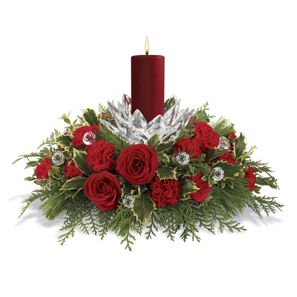 Christmas Flower Images  Give Holiday Cheer with Designer Floral Arrangements and