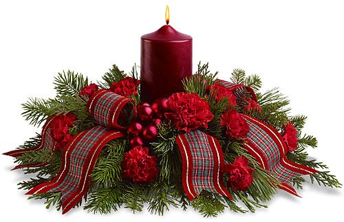 Christmas Flower Images  Teleflora Family Celebration Pesche s