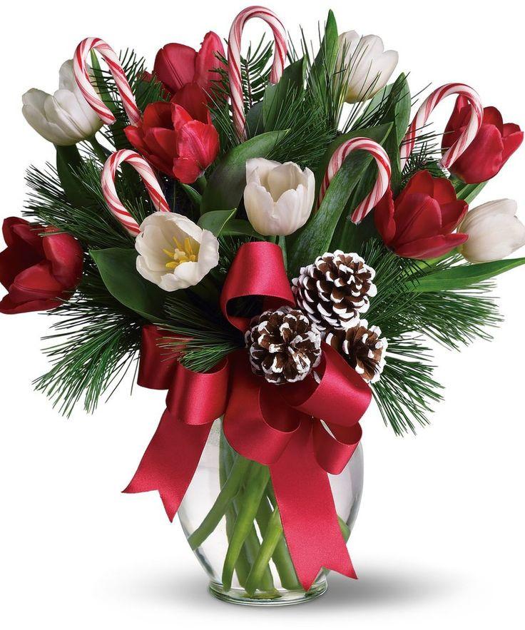 Christmas Flower Images  Best 25 Christmas flower arrangements ideas on Pinterest