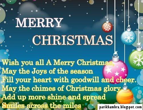 Christmas Friend Quotes  Pari Khambra Merry Christmas Quotes For Friends