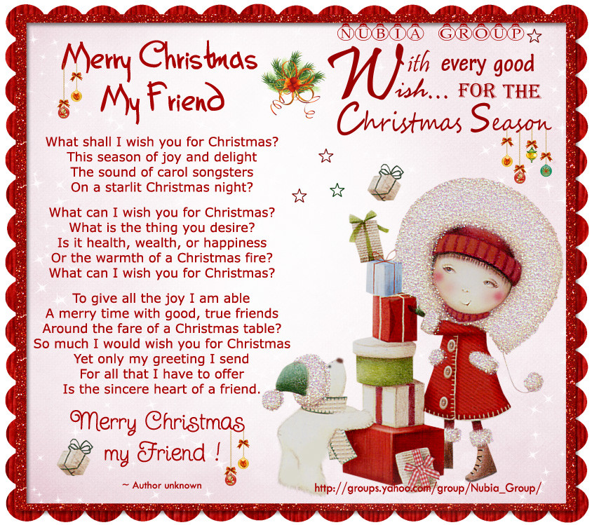 Christmas Friend Quotes  Christmas Quotes For Friends QuotesGram