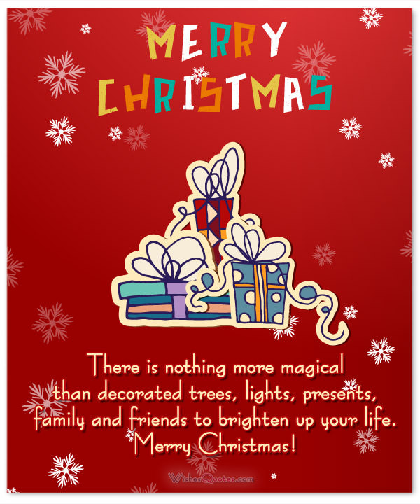 Christmas Friend Quotes  Christmas Messages for Friends and Family