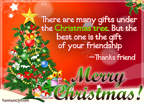 Christmas Friend Quotes  Happy Christmas