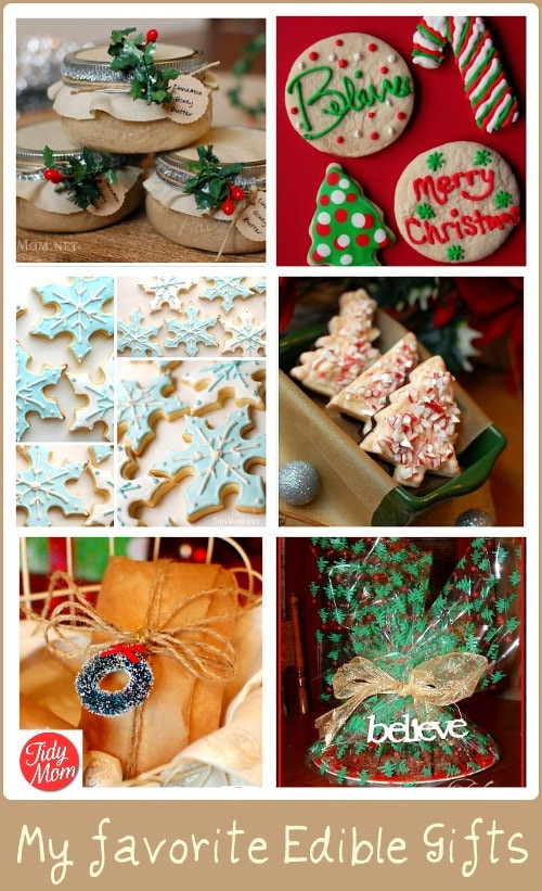 Christmas Gift Craft Ideas  Delicious Edible Gift Food Present and Holiday Craft Ideas