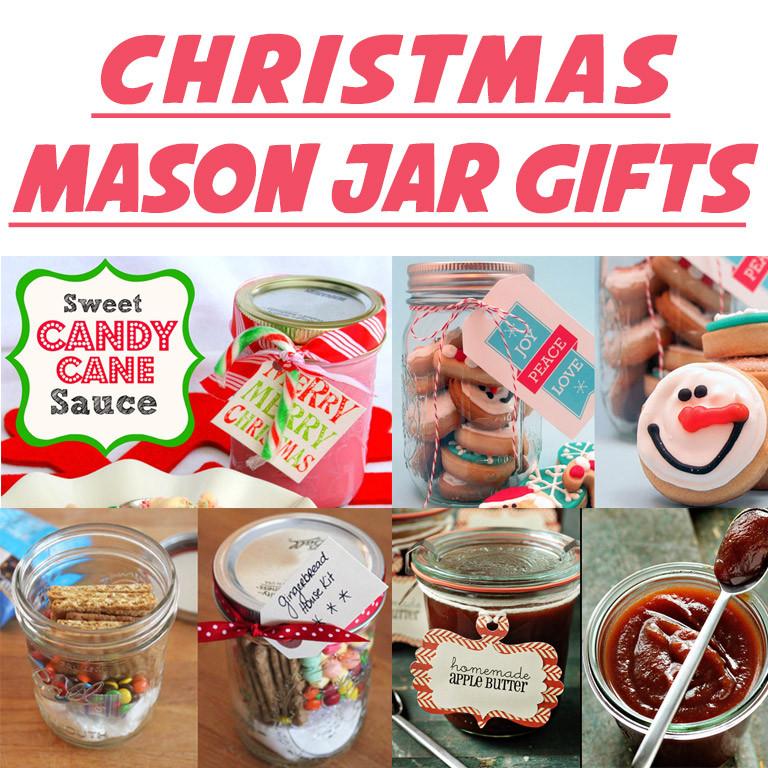 Christmas Gift Craft Ideas  10 DIY Mason Jar Christmas Gift Craft Ideas & Tutorials