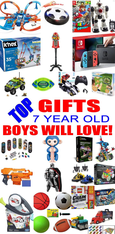 Christmas Gift Ideas 7 Year Old Boy  Best 25 Toys for boys ideas on Pinterest