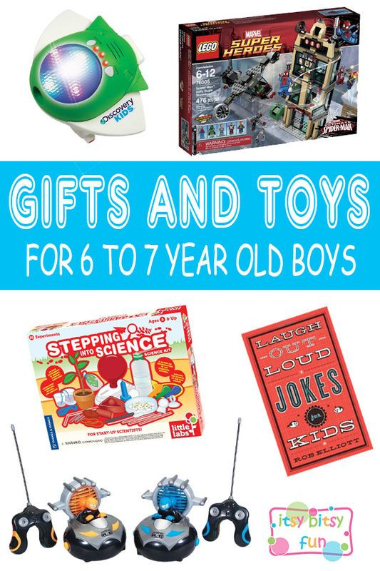 Christmas Gift Ideas 7 Year Old Boy  Best Gifts for 6 Year Old Boys in 2017