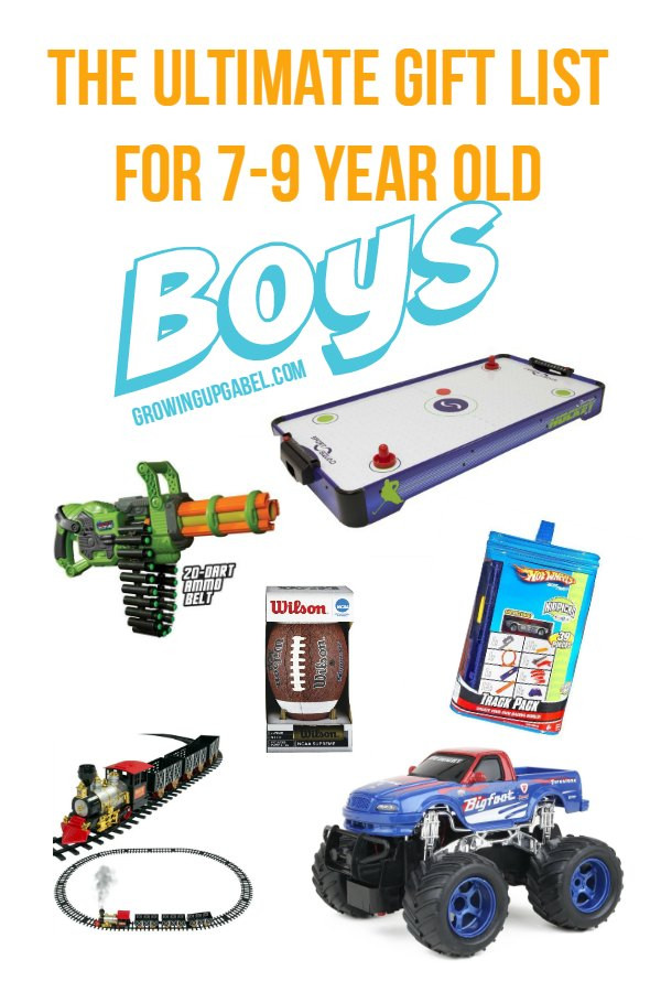 Christmas Gift Ideas 7 Year Old Boy  The Ultimate List of Best Boy Gifts for 7 9 Year Old Boys