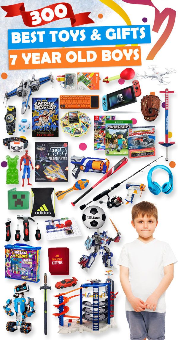 Christmas Gift Ideas 7 Year Old Boy  Best Toys and Gifts for 7 Year Old Boys 2018