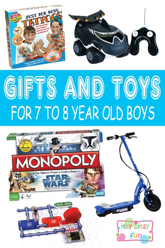 Christmas Gift Ideas 7 Year Old Boy  Best Gifts for 7 Year Old Boys in 2017 Gift Ideas