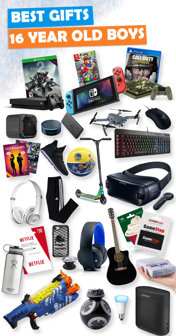 Christmas Gift Ideas For 16 Yr Old Girls  Gifts for 16 Year Old Boys