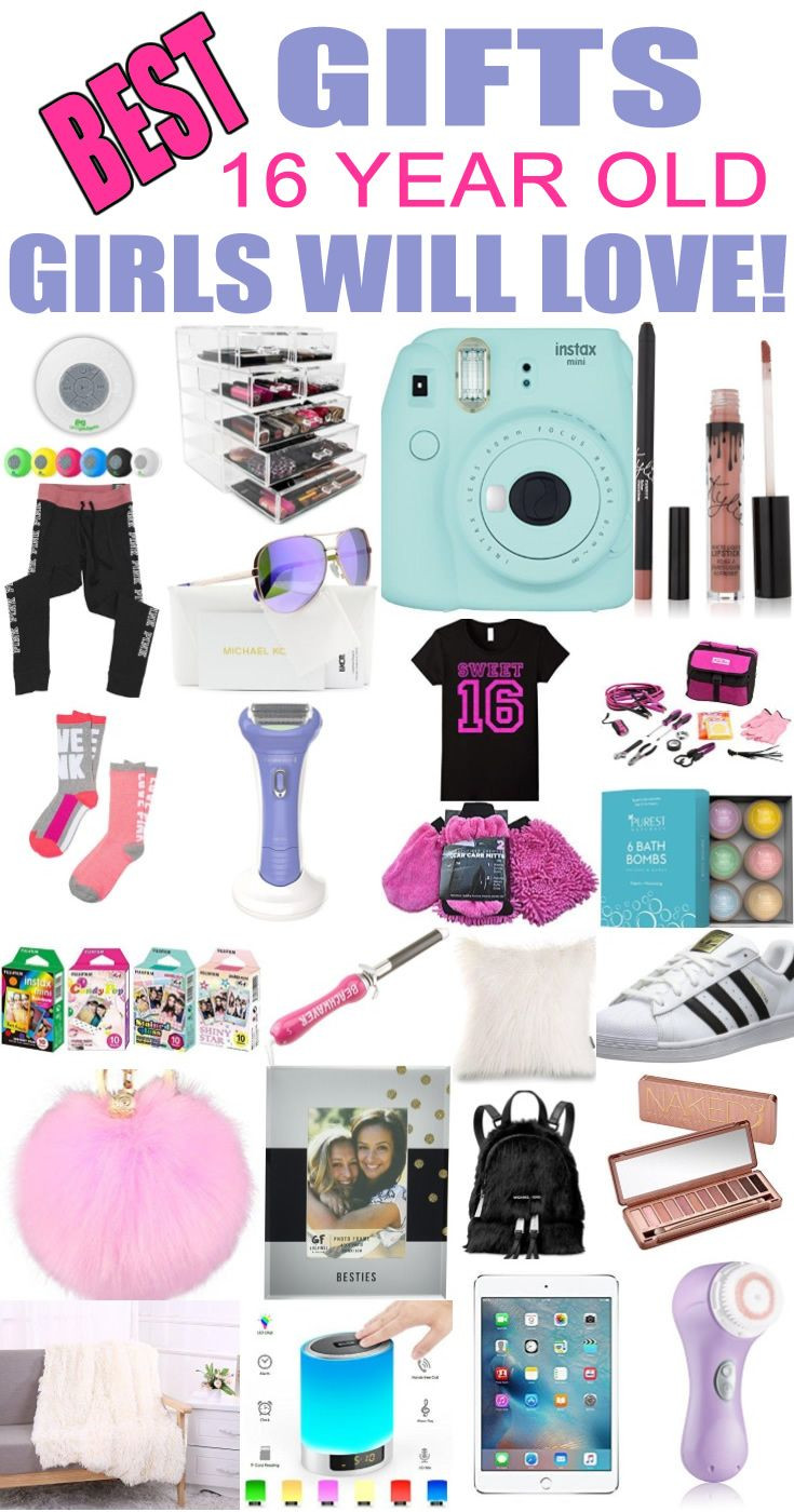 Christmas Gift Ideas For 16 Yr Old Girls  Best Gifts 16 Year Old Girls Will Love