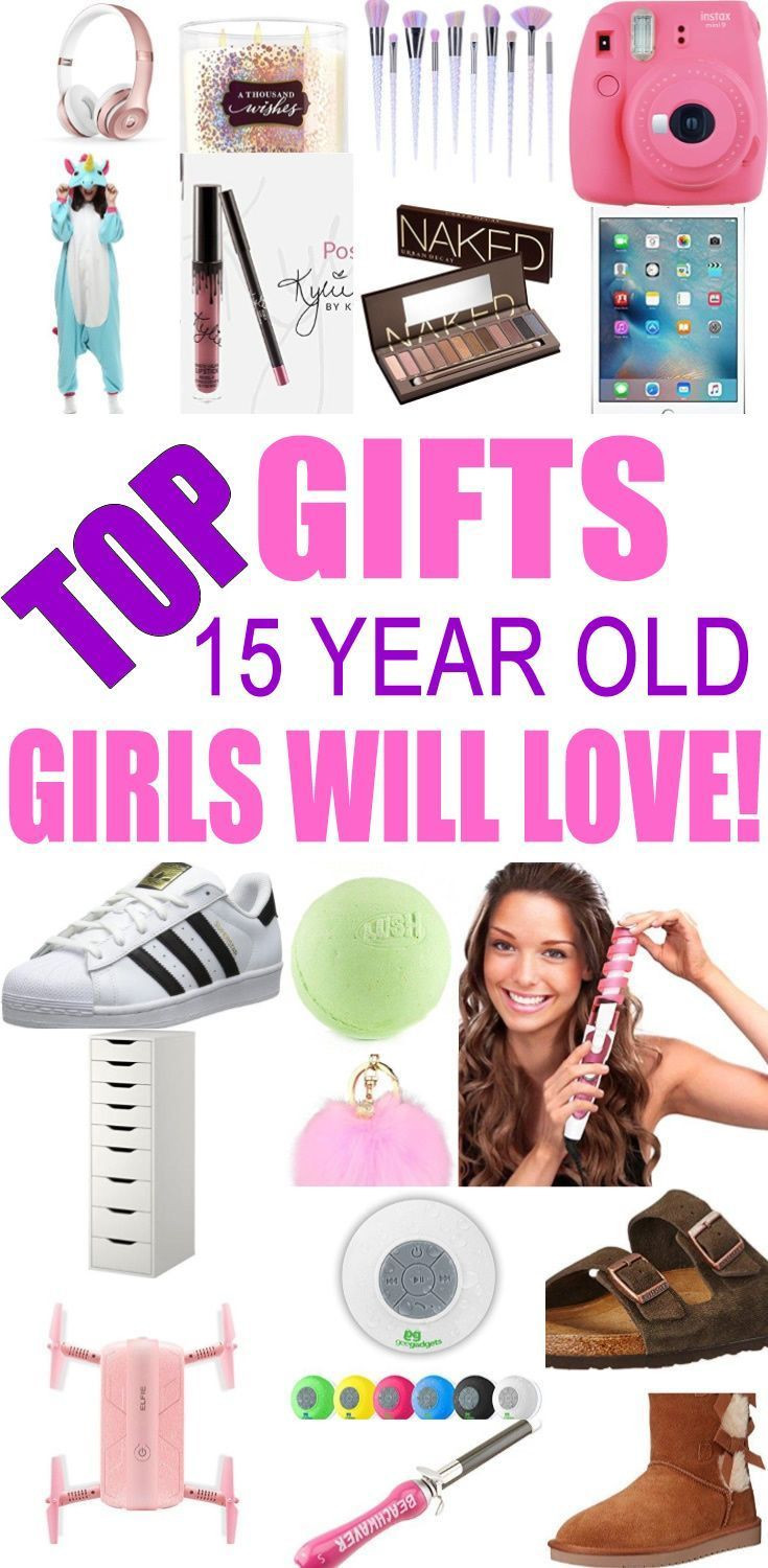 Christmas Gift Ideas For 16 Yr Old Girls  Top Gifts For 15 Year Old Girls Best t suggestions