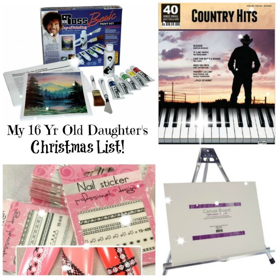 Christmas Gift Ideas For 16 Yr Old Girls  This is my 15 Year Old Daughter s Christmas List