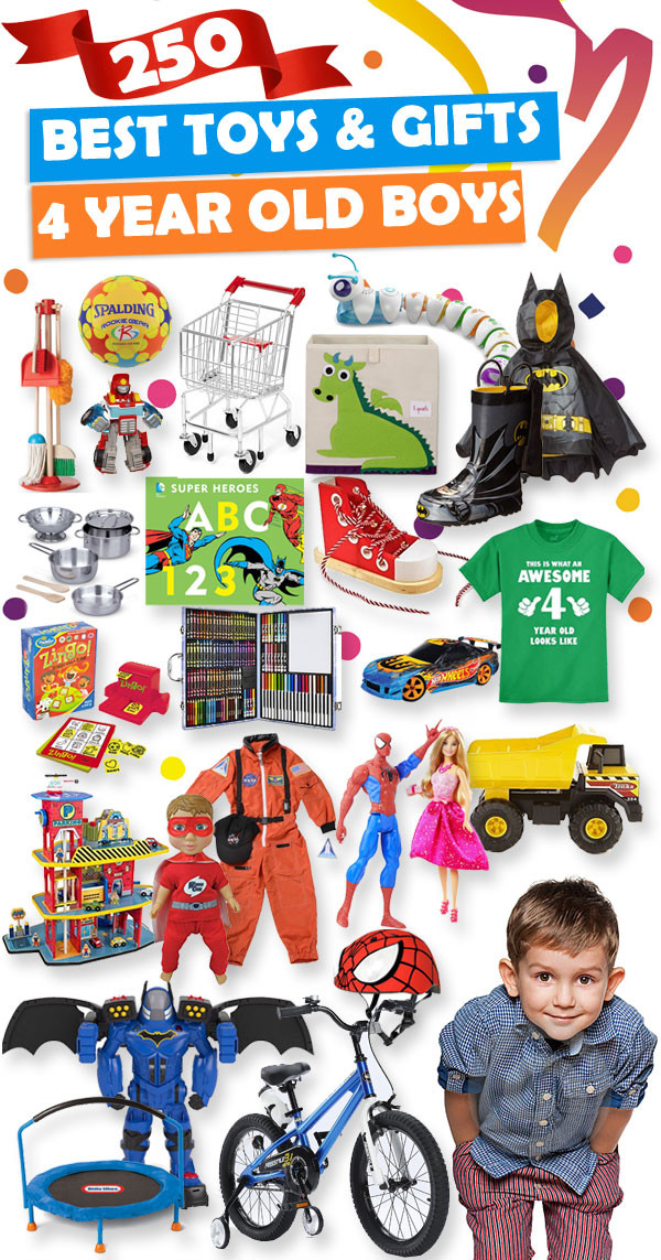 Christmas Gift Ideas For 2 Year Old Boys  Best Gifts And Toys For 4 Year Old Boys 2018