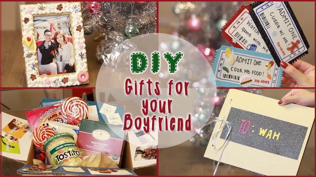 Christmas Gift Ideas For Boyfriend  DIY 5 Christmas Gift Ideas for Your Boyfriend