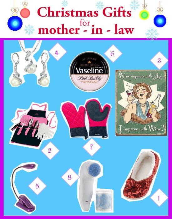 Christmas Gift Ideas For Inlaws  Top Christmas Gift Ideas for Mother in Law Vivid s