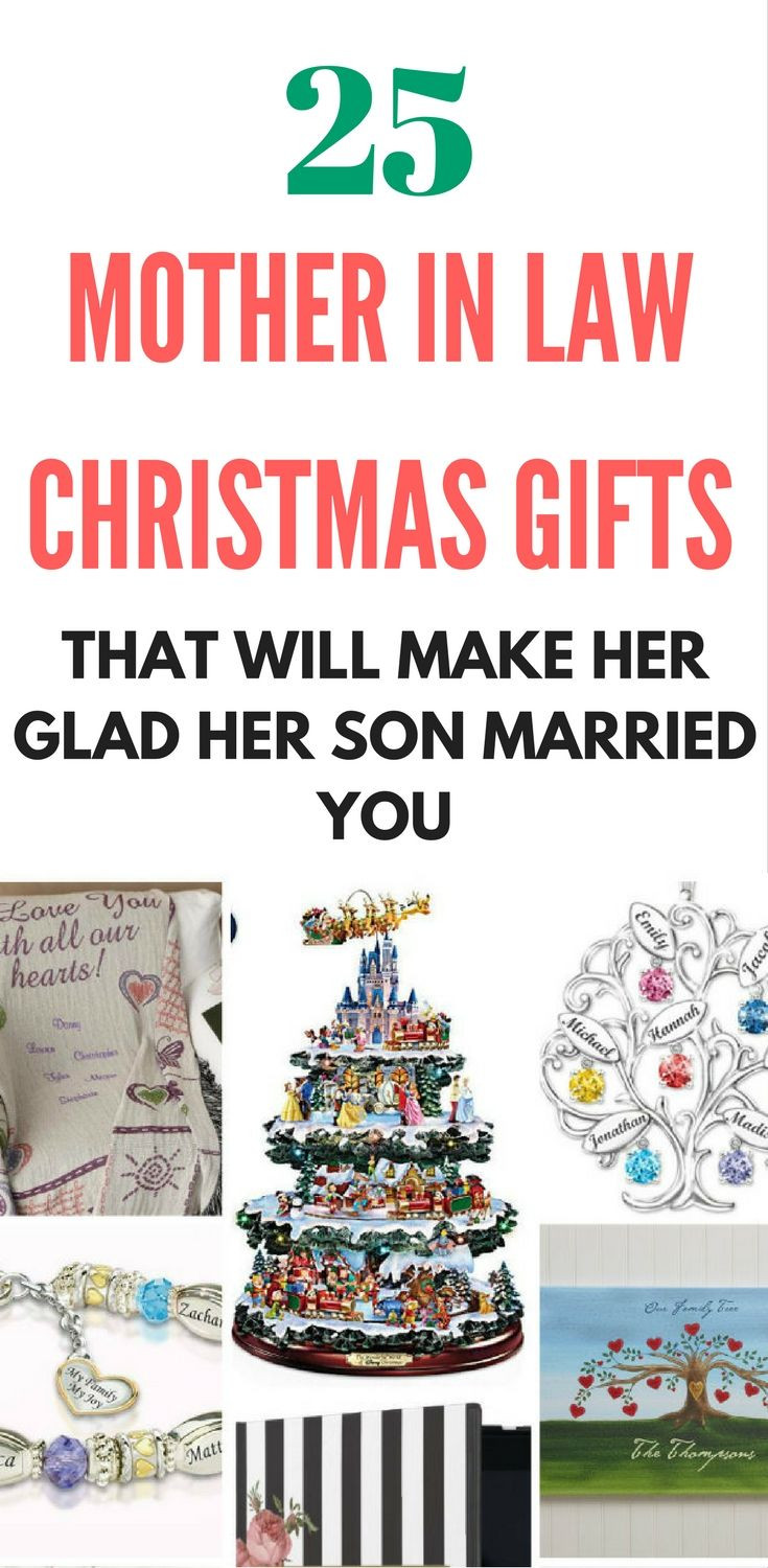 Christmas Gift Ideas For Inlaws  Best 25 Mother in law birthday ideas on Pinterest