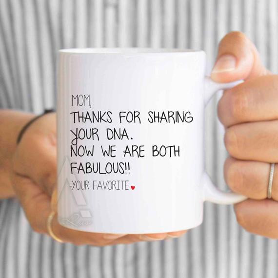 Christmas Gift Ideas For Moms From Daughters  Mother s Day Gift funny coffee mug for mom mom