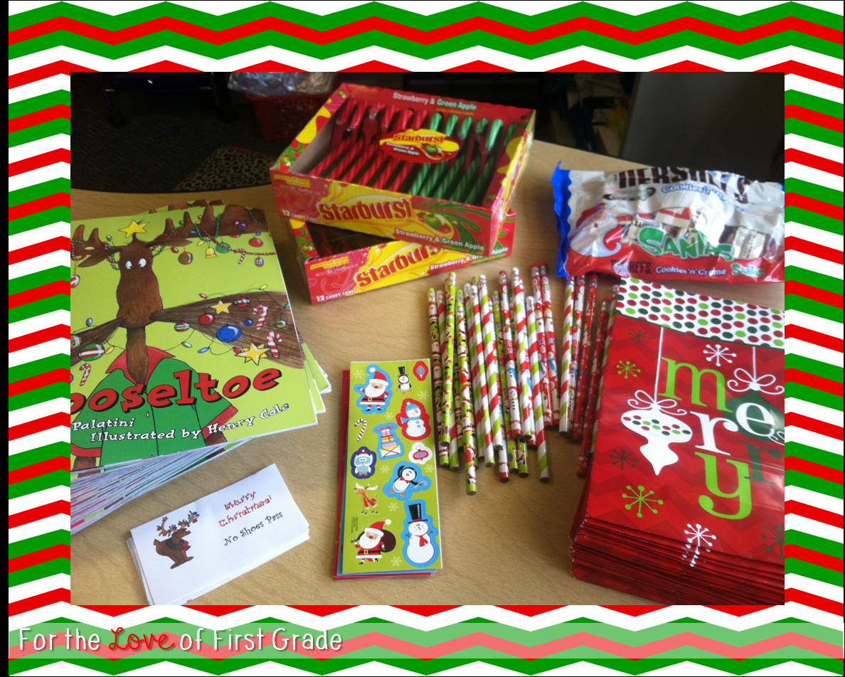 Christmas Gift Ideas For Students  For the Love of First Grade Gifts for Students with a