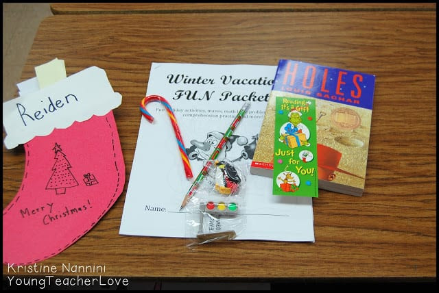 Christmas Gift Ideas For Students  Last Day Before Christmas Break Young Teacher Love