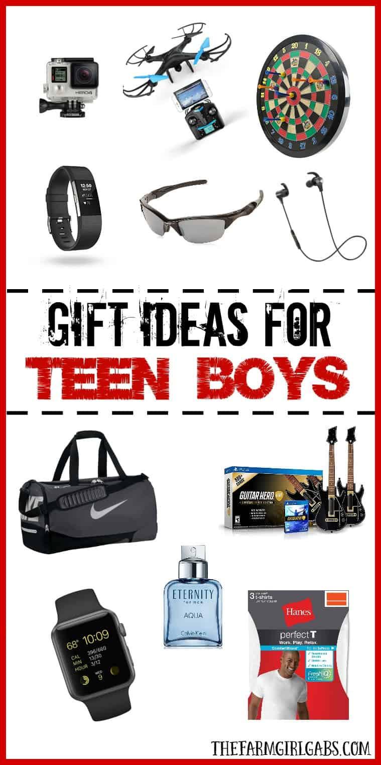 Christmas Gift Ideas For Teenage Guys  Gift Ideas For Teen Boys The Farm Girl Gabs