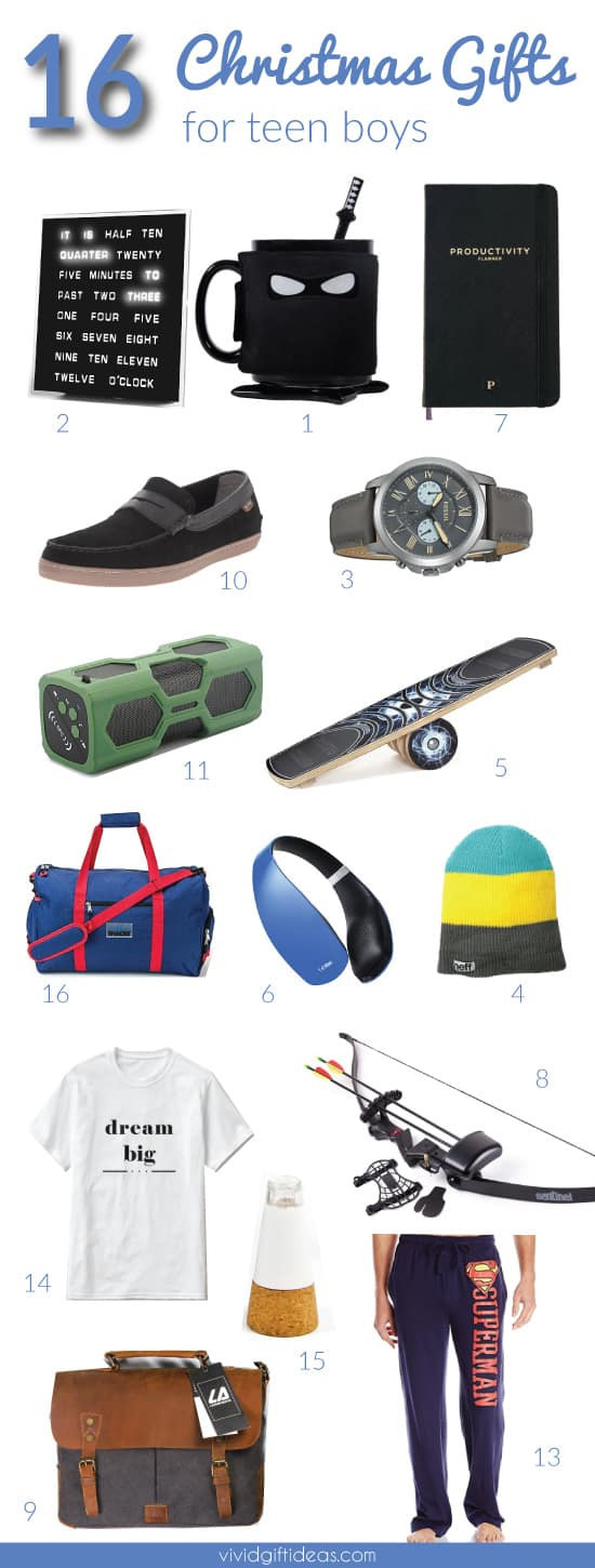 Christmas Gift Ideas For Teenage Guys  15 Coolest Christmas Gifts You Can Get for Teen Boys