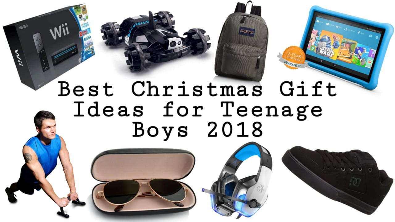 Christmas Gift Ideas For Teenage Guys  Best Christmas Gifts for Teenage Boys 2019