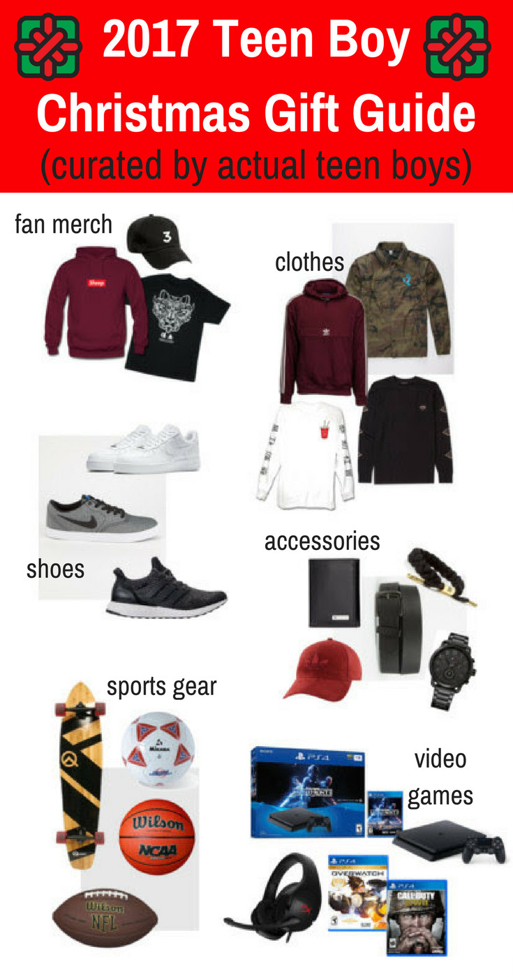Christmas Gift Ideas For Teenage Guys  2017 Teen Boy Christmas Gift Guide Chosen by Real