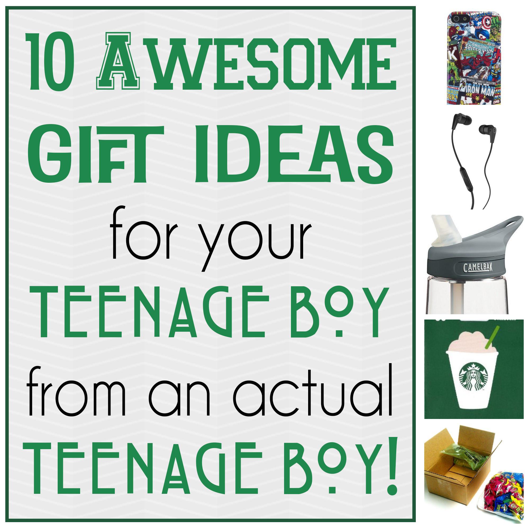 Christmas Gift Ideas For Teenage Guys  10 Awesome Gift Ideas for Teenage Boys