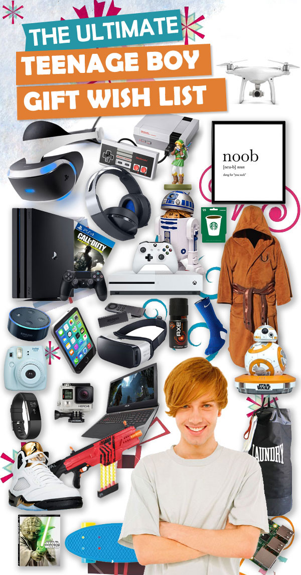 Christmas Gift Ideas For Teenage Guys  Best Christmas Gifts For Teen Boys