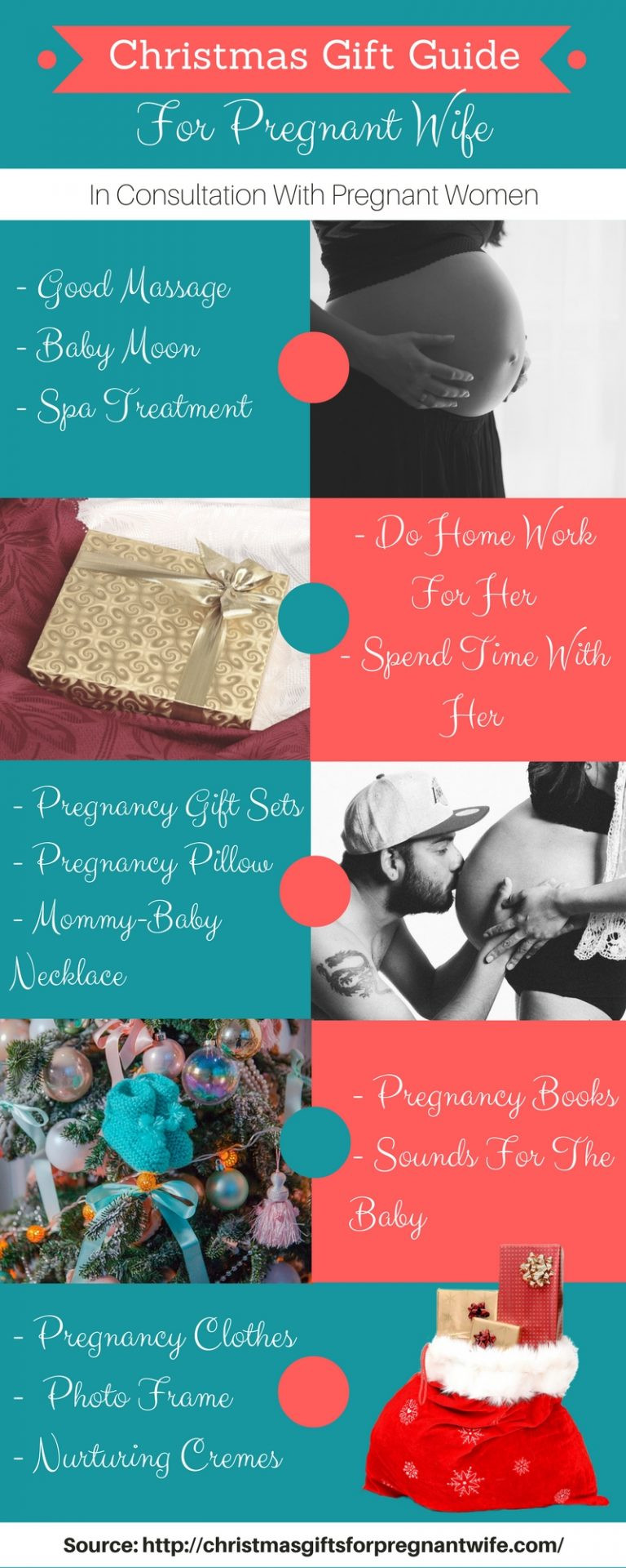 Christmas Gift Ideas For Wife  Best Christmas Gifts For Pregnant Wife – Submit Infographics