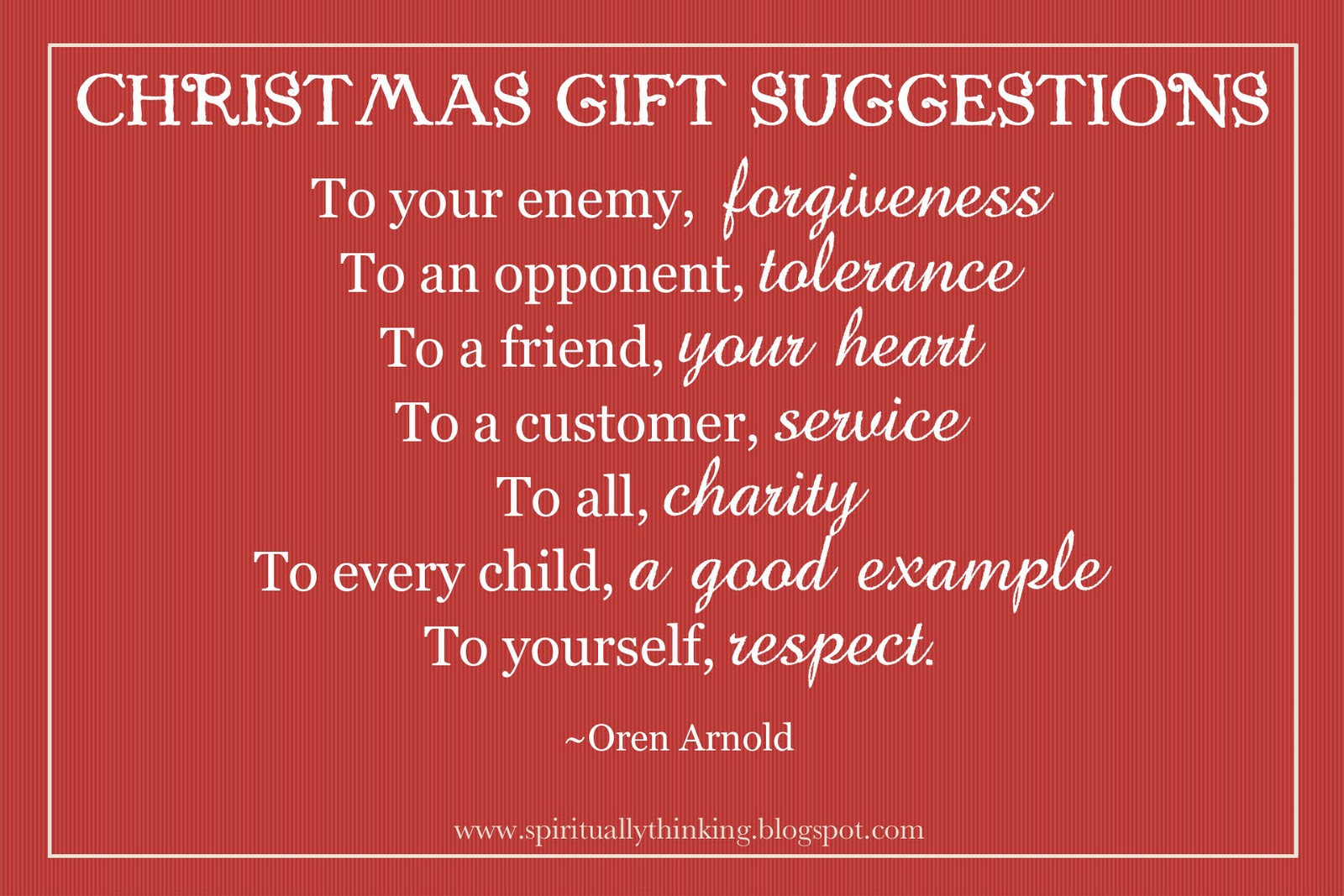 Christmas Gift Quotes  Quotes About Forgiving Not Your Enemy QuotesGram