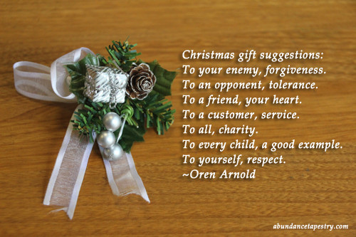 Christmas Gift Quotes  Christmas Quote Christmas Gift Suggestions