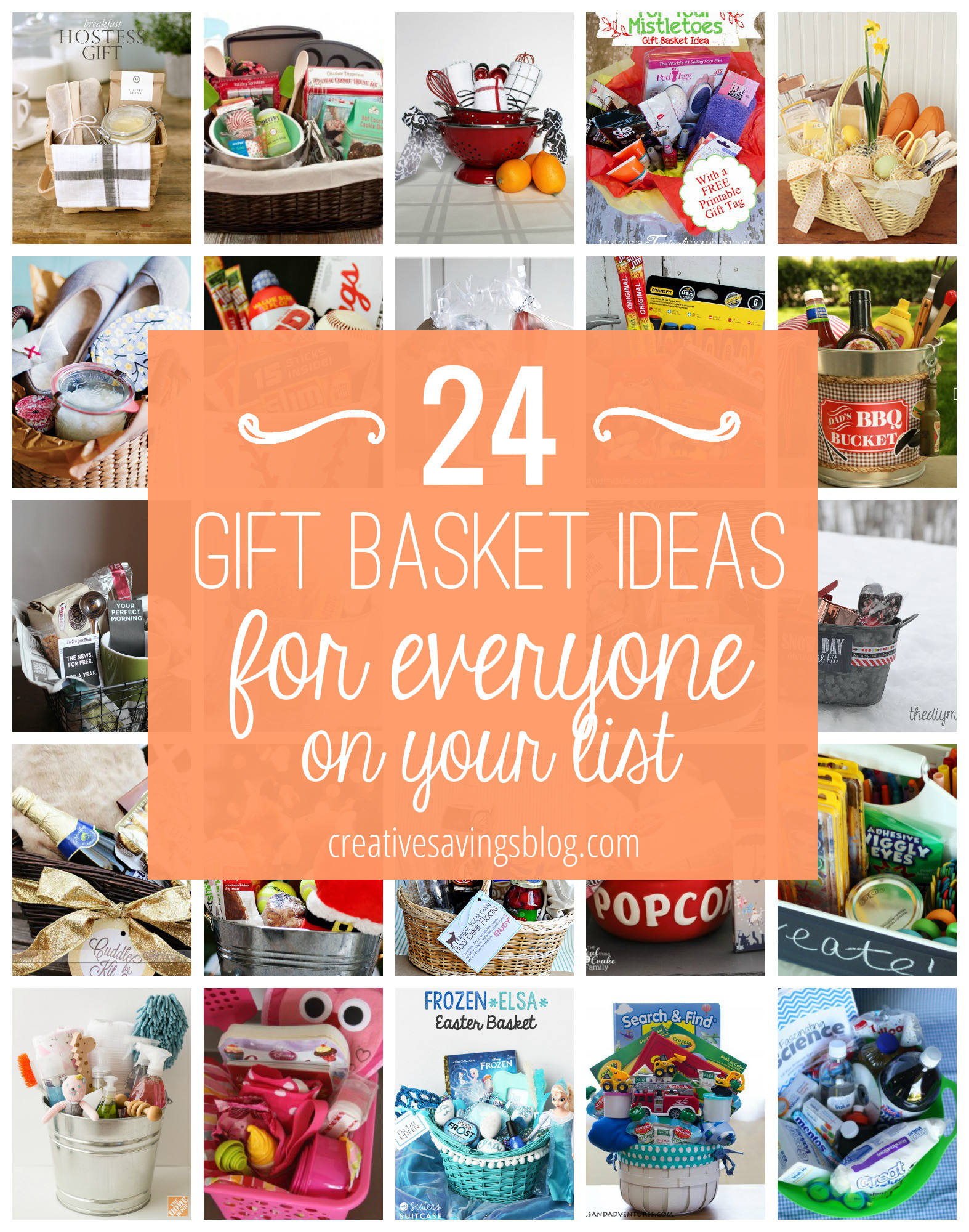 Christmas Gift Theme Ideas  DIY Gift Basket Ideas for Everyone on Your List