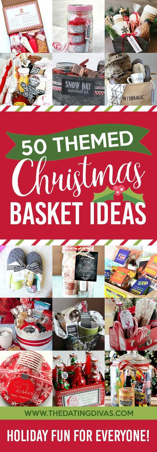 Christmas Gift Theme Ideas  Christmas Gift Basket Ideas for Everyone The Dating Divas