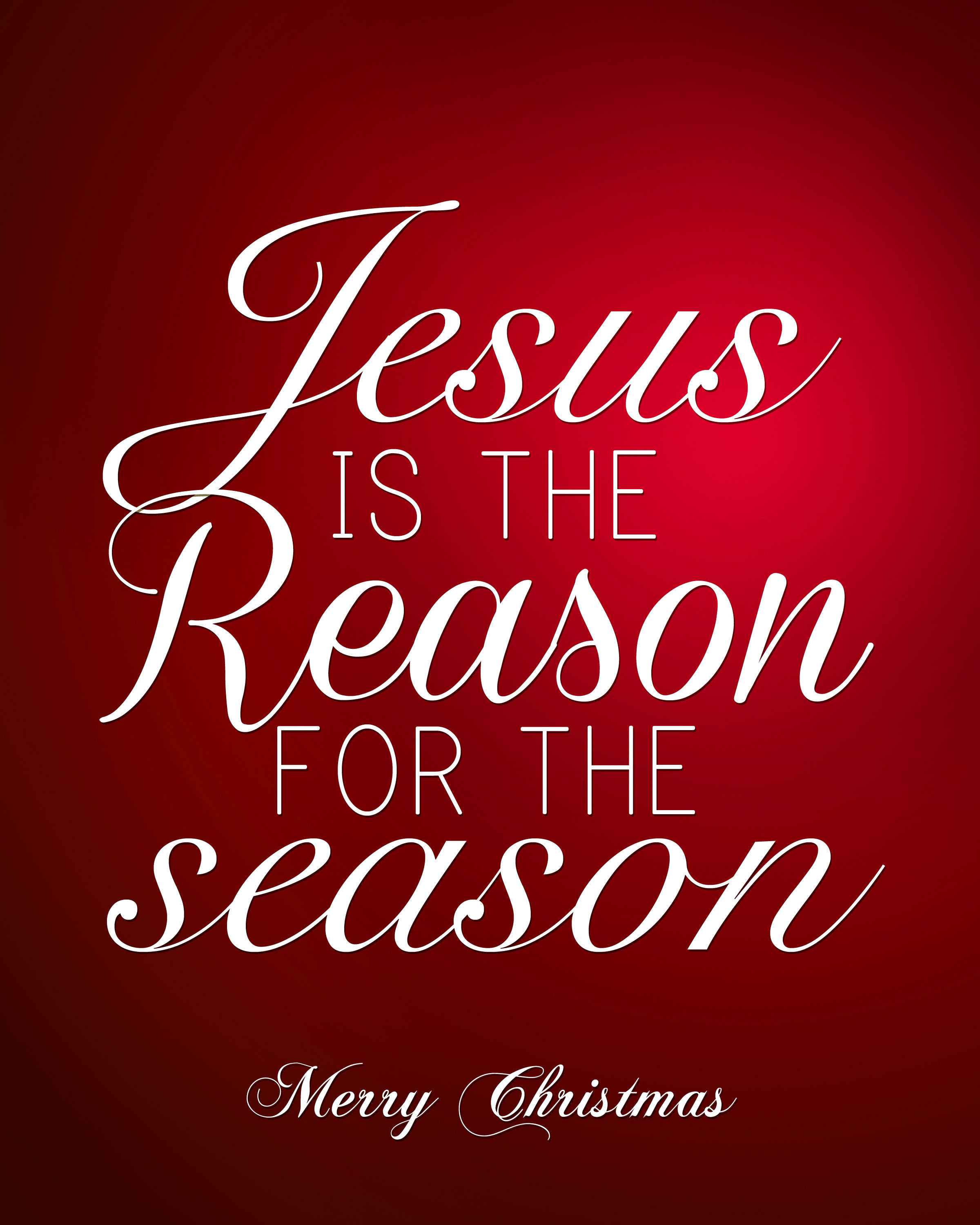 Christmas Jesus Quote  Jesus Is The Reason For The Season Quote s