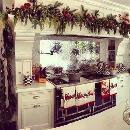 Christmas Kitchen Decor  Shabby in love Christmas kitchen decor ideas