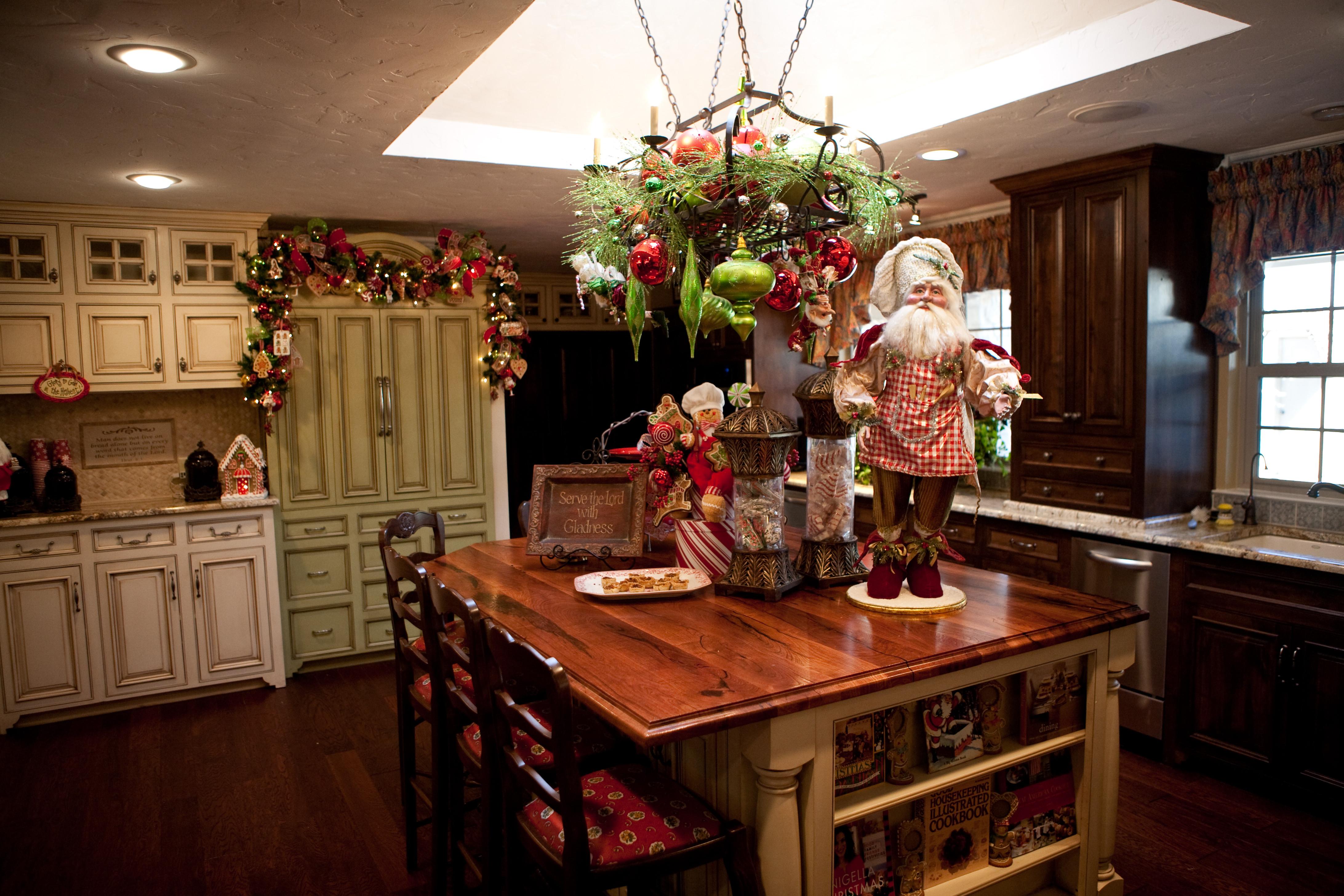 Christmas Kitchen Decor  Christmas Tree ideas
