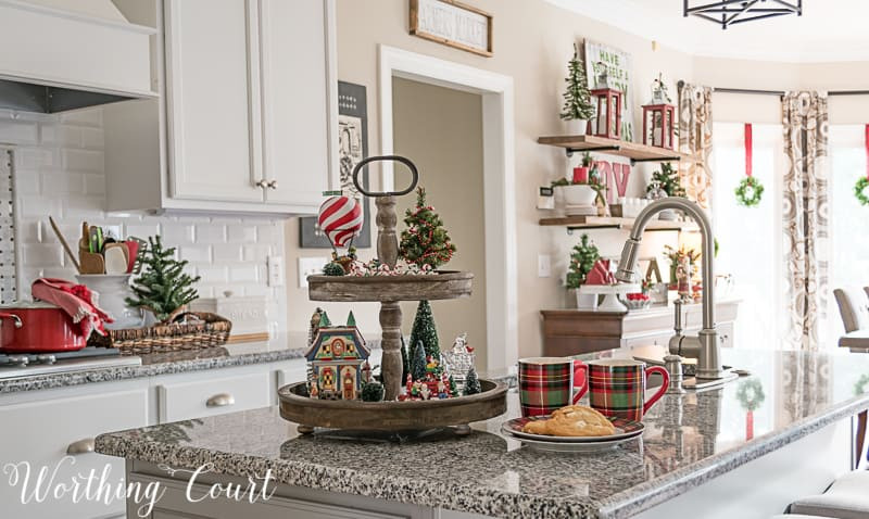 Christmas Kitchen Decor  My Christmas Kitchen Decor A Giveaway And An Exclusive