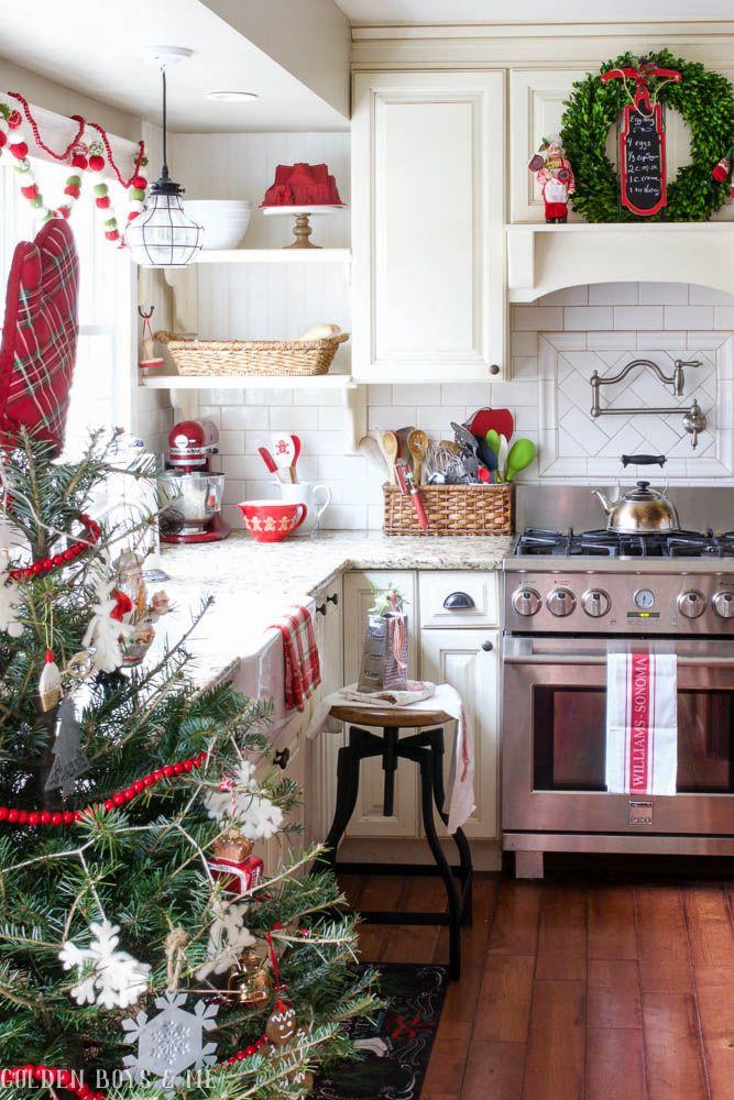 Christmas Kitchen Decor  25 best ideas about Christmas kitchen on Pinterest