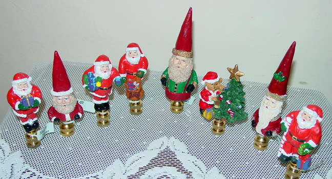 Christmas Lamp Finials  Lamp Finials