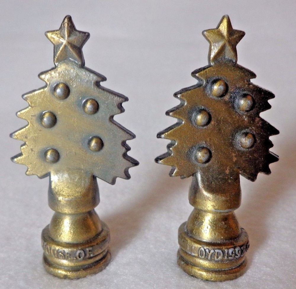 Christmas Lamp Finials  Christmas Lamp FinialsLamp Finial Evergreen Christmas