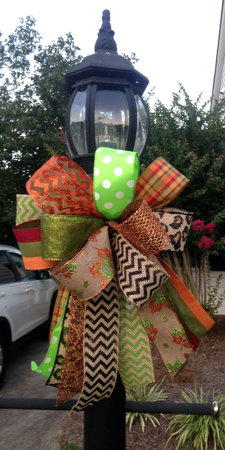 Christmas Lamp Post Decorations  17 Best images about Lamp post ideas on Pinterest