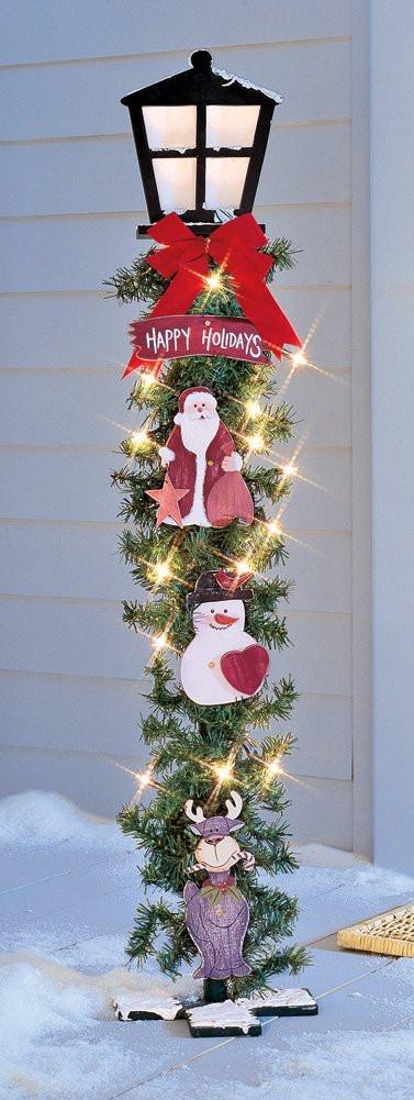 Christmas Lamp Post Decorations  Christmas Lamp Posts