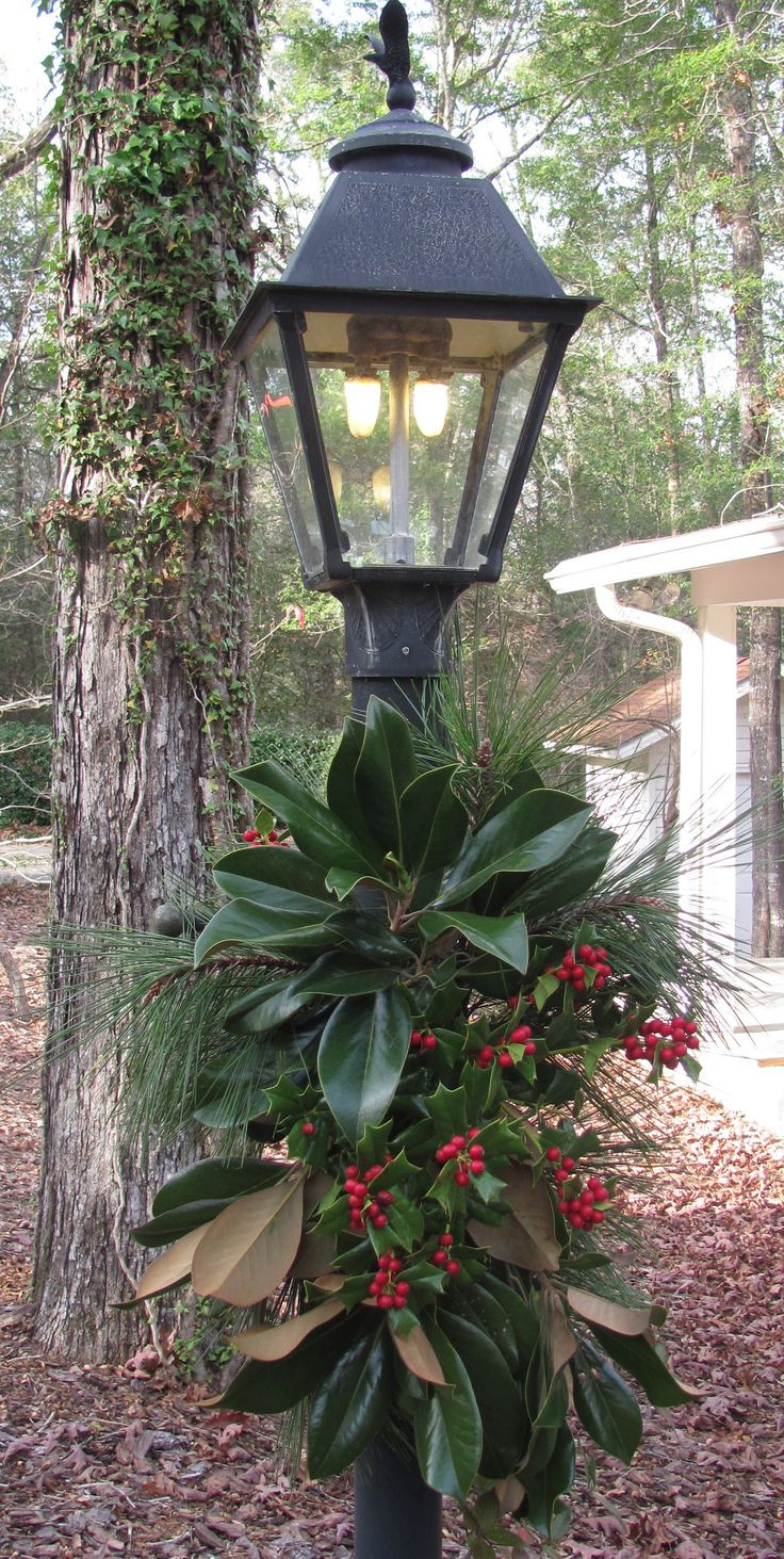 Christmas Lamp Post Decorations  25 best Lamp post ideas on Pinterest