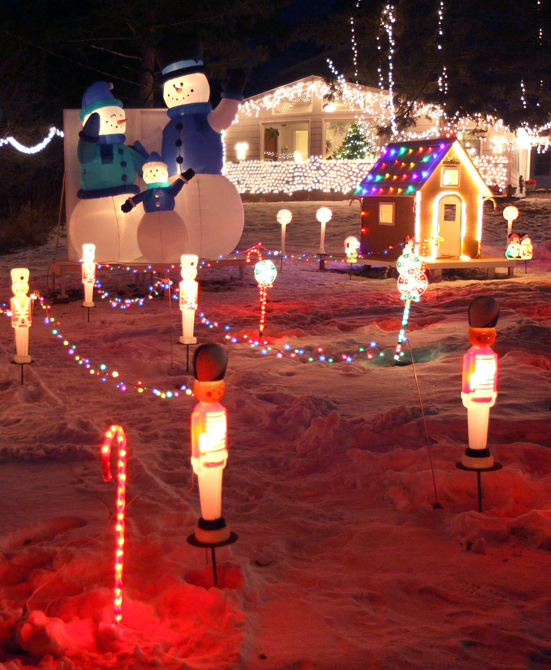 Christmas Lighting Videos  Holiday Lights So Bright You Can See em from Space