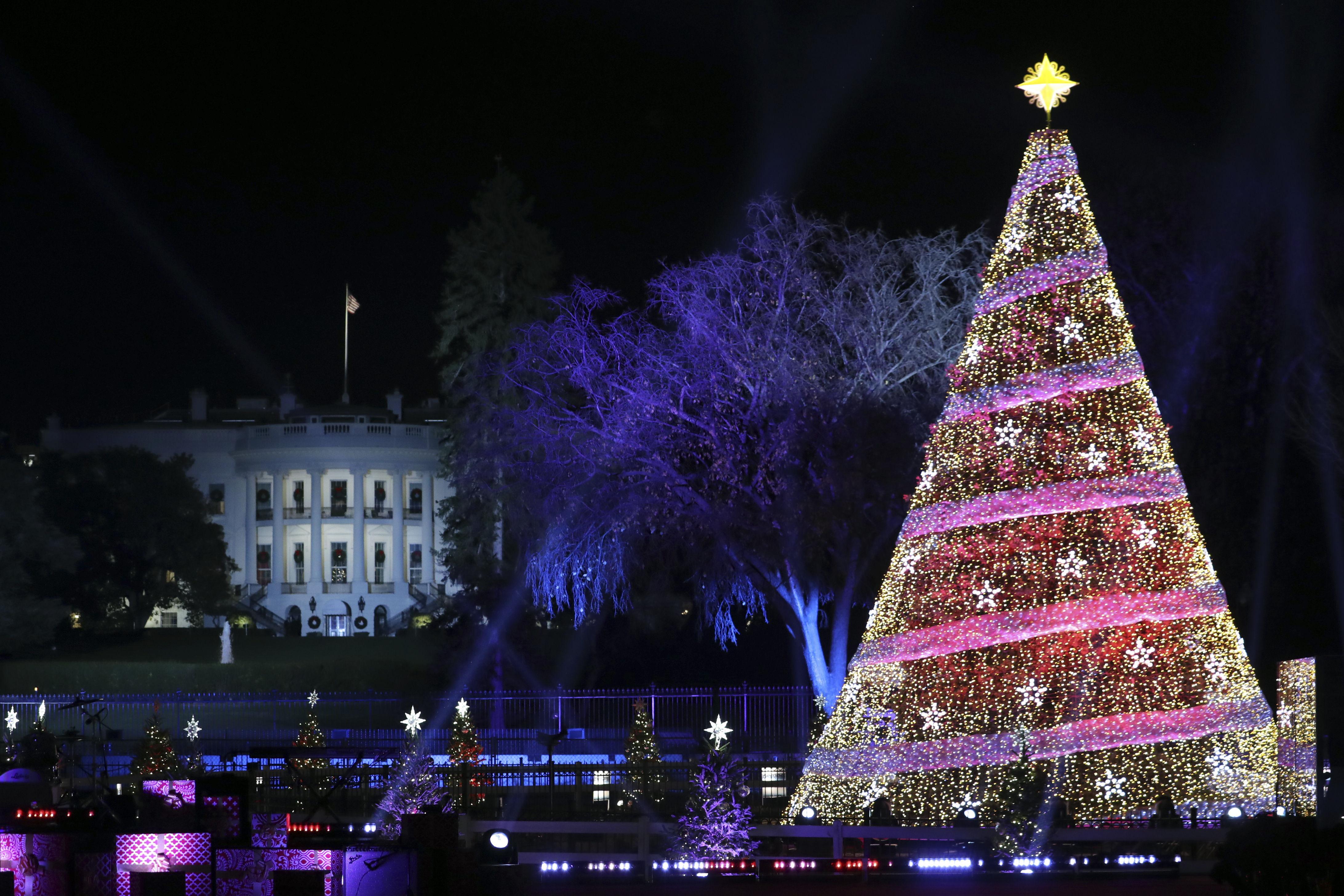 Christmas Lighting Videos  National Christmas Tree Lighting 2017 s