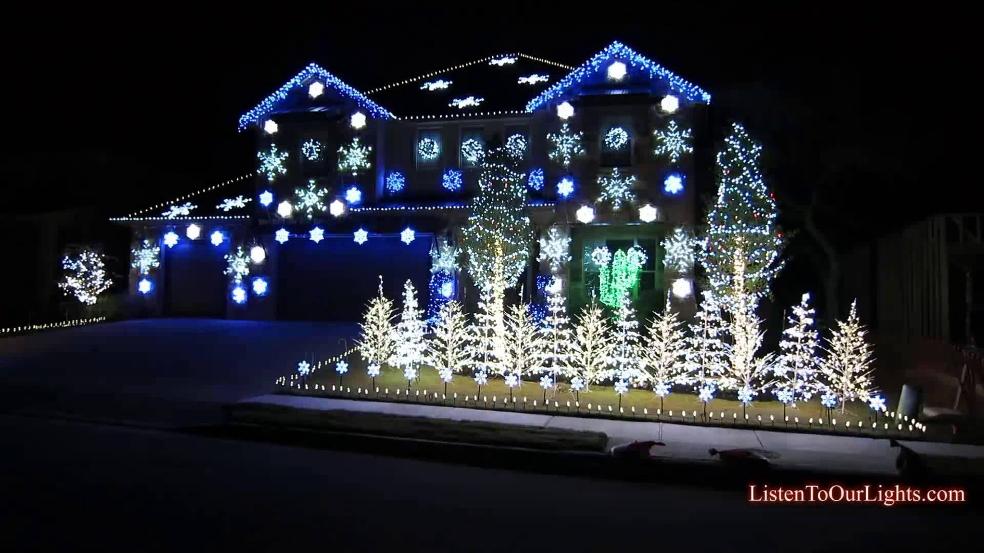 Christmas Lighting Videos  20 Most Wonderful Lights Decoration Ideas For Christmas