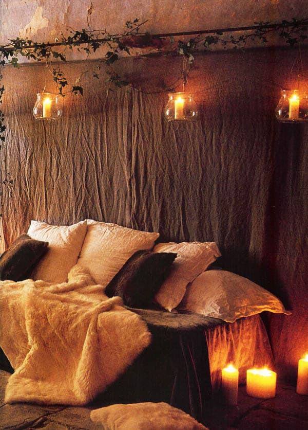 Christmas Lights In Bedroom  66 Inspiring ideas for Christmas lights in the bedroom